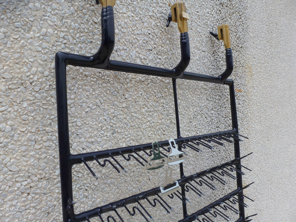 Frame for thickness chrome plating